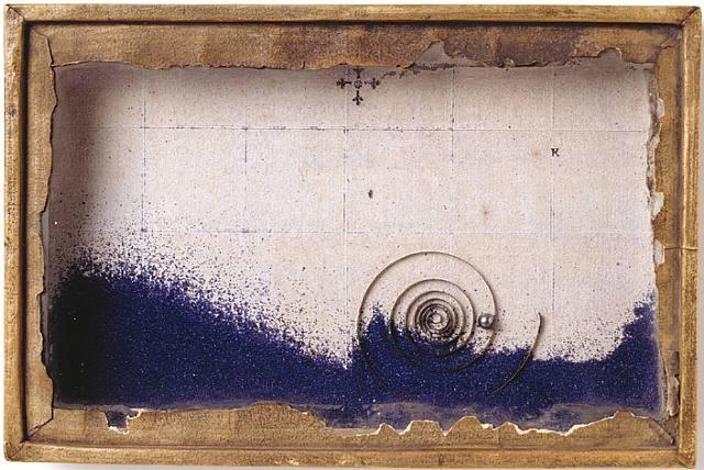 Joseph Cornell Blue Sand Box
